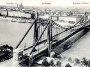 Erzsébet híd(-ak) és környékeik, Erzsébet híd 1907, 1. kerület