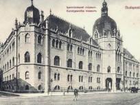 1911, Üllői út, az Iparművészeti múzeum, 9. kerület
