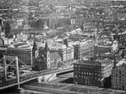 1960-as évek közepe, Március 15. tér,  Erzsébet híd, 5. kerület