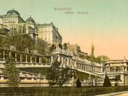 1883-1915, Várkert rakpart, a Várbazár, 1. kerület