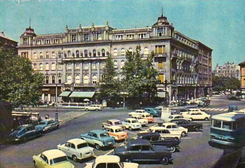 1968, Vörösmarty tér, 5. kerület