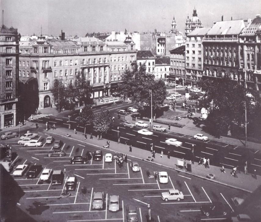 1969, Vörösmarty tér, (1950-től) 5. kerület