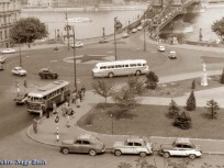 1960-as évek, Clark  Ádám tér, 1. kerület