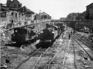Déli pályaudvar és környéke, Déli pályaudvar és környéke 1945, 1. kerület