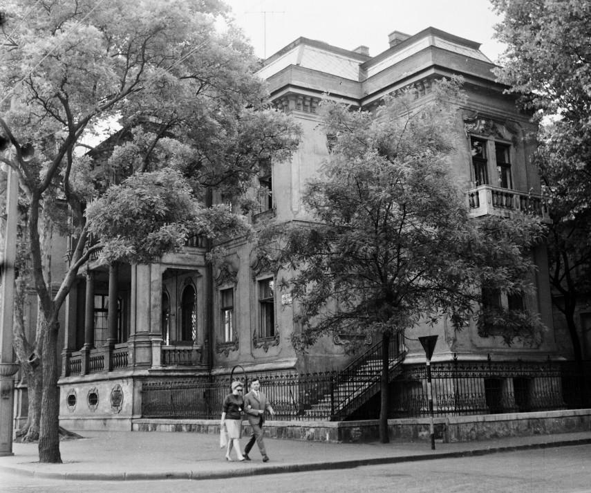 1962, Dózsa György út a Délibáb utcánál, 6. kerület