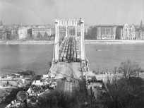 1964, Erzsébet híd, terheléspróba, 1. kerület