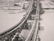 1901, a régi Erzsébet híd építése, 1. kerület