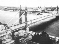 Erzsébet híd(-ak) és környékeik, Erzsébet híd 1903, 1. kerület