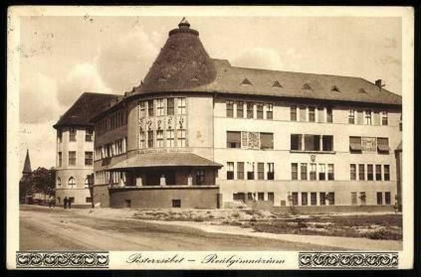 1933, Török Flóris utca, a Reálgimnázium, (1950-től) 20.kerület
