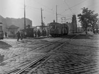 1958, Mező Imre (Fiumei) út a Koltói Anna (Magdolna) utcánál, 8. kerület