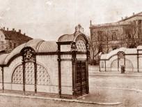 1896 táján, Andrássy út, 6. kerület