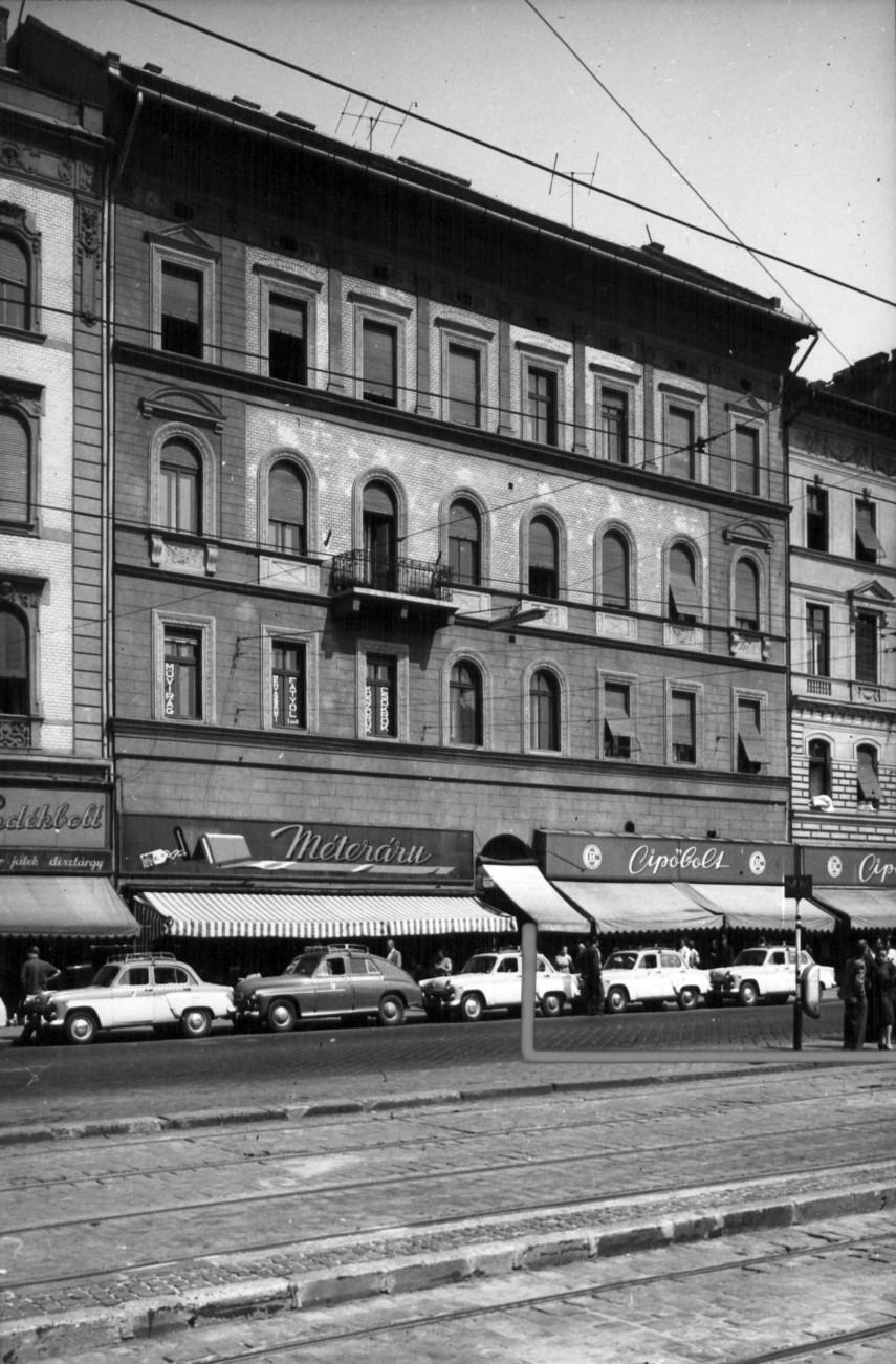 1961, Baross tér, 7. kerület