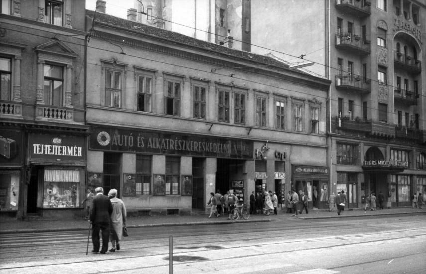 1961, Rákóczi út