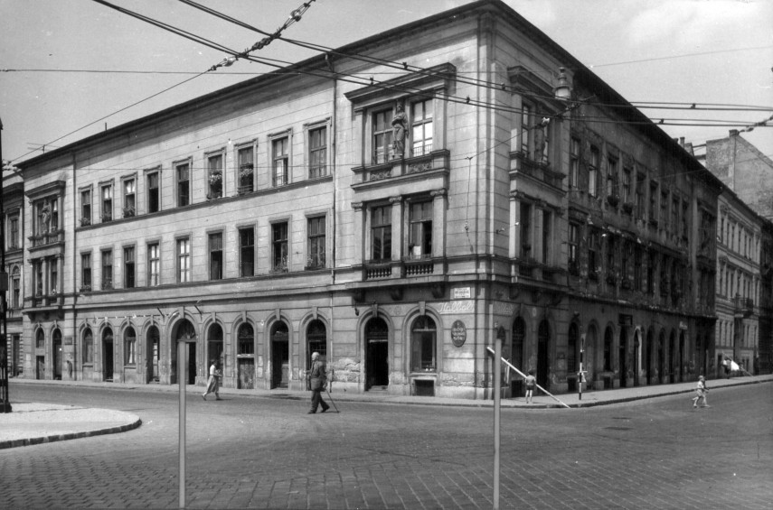 1961, Köztársaság (II. János Pál pápa) tér a Berzsenyi utcánál