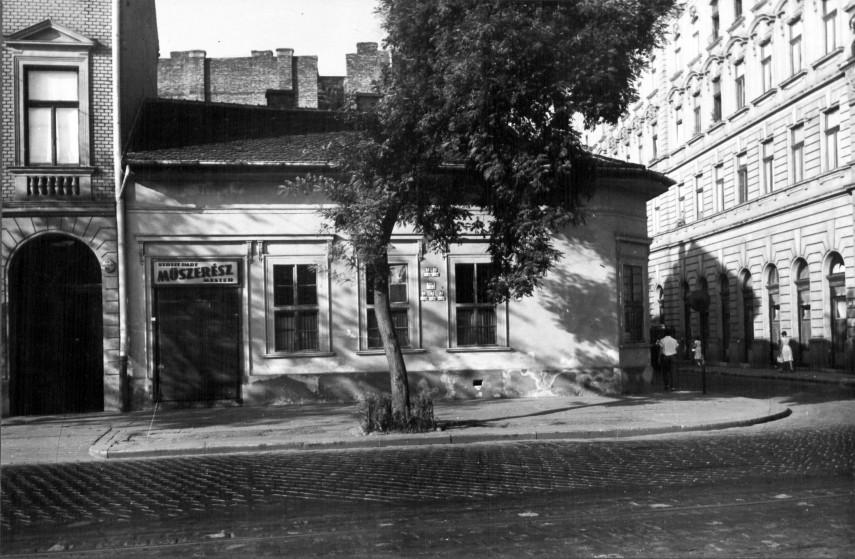 1961, Üllői út a Lenhossék utcánál