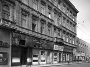 1957, Baross utca a Calvin (Kálvin) tér felé nézve, 8. kerület
