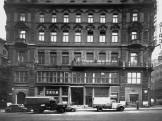 1955, Váci utca, az északi Klotild palota nyugati homlokzata