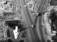 1963,  a Balatoni út és a Budaörsi út találkozása, 11. kerület