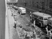 1961, Könyves Kálmán körút a Kőbányai út felől nézve