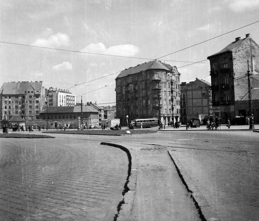 1951, Széna tér, 1. és 2. kerület