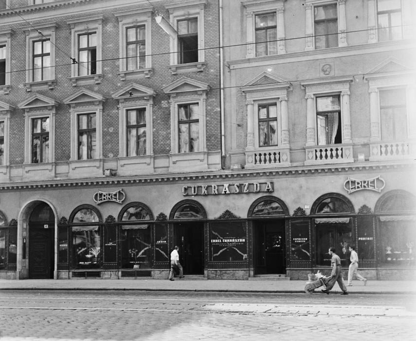 1960, Rákóczi út, 8. kerület