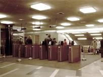 1971, Blaha Lujza tér, Metró lejáró, 8.és 7. kerület