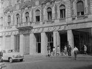 1961, Akácfa utca a Rákóczi útnál, 7. kerület