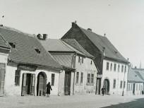 1931, Csalogány utca a Kapás utca felől a Málna utca felé