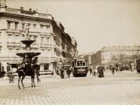 1907, Calvin (Kálvin) tér a Múzeum körút felé