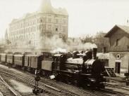1906, a Déli pályaudvar, nagyjából a Karátsonyi (Kuny Domokos) utca felől, 1. kerület