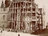 1893 táján, Szentháromság tér, 1. kerület