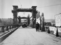 1953, a Hajógyári-sziget emelőhídja, azaz a Remmel híd, 3. kerület