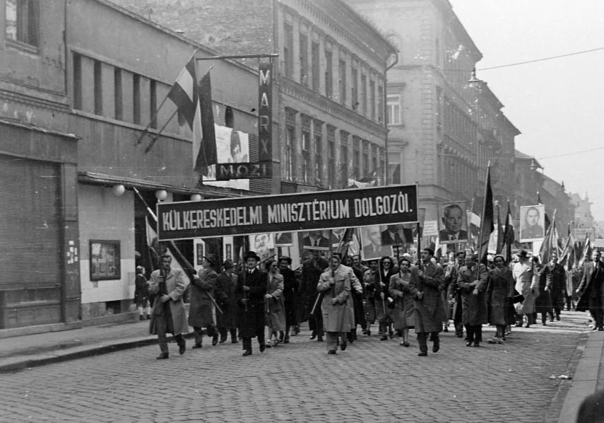 1954, Landler Jenő utca (István út), 7. kerület