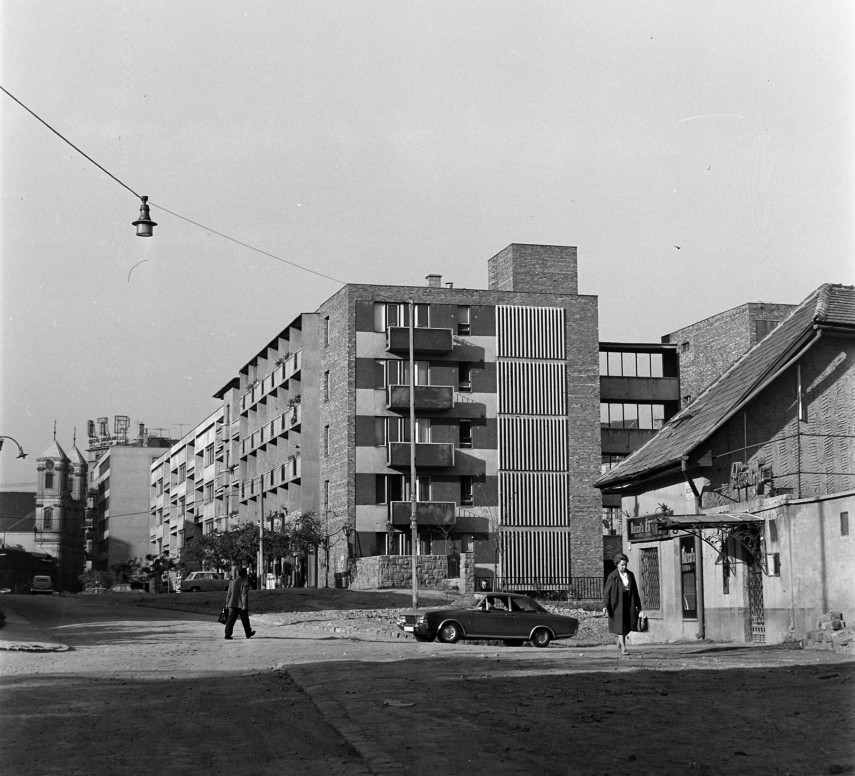 1969, Fazekas utca a Kacsa utcánál, 2. kerület