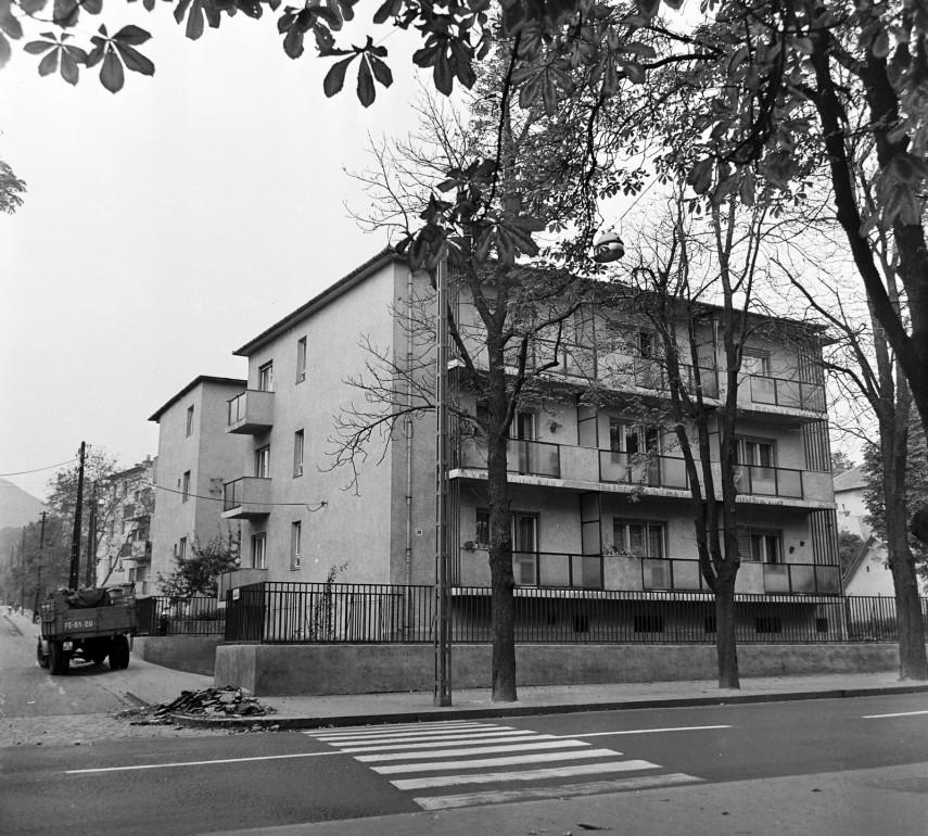 1969, Vörös Hadsereg útja (Hűvösvölgyi út) a Bognár utcánál, 2. kerület