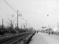 1956, Üllői út a Nagyvárad tér irányába nézve
