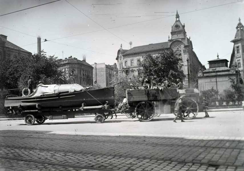 1932, Pálffy (Bem József) tér, 2. kerület