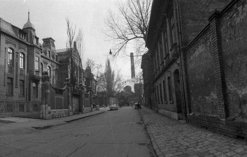 1973, Balassa utca, a SOTE (ma Semmelweis Egyetem) Neurológiai Klinikája