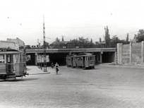 1952, Dózsa György út a Rudas László (Podmaniczky) utcánál, 6. kerület