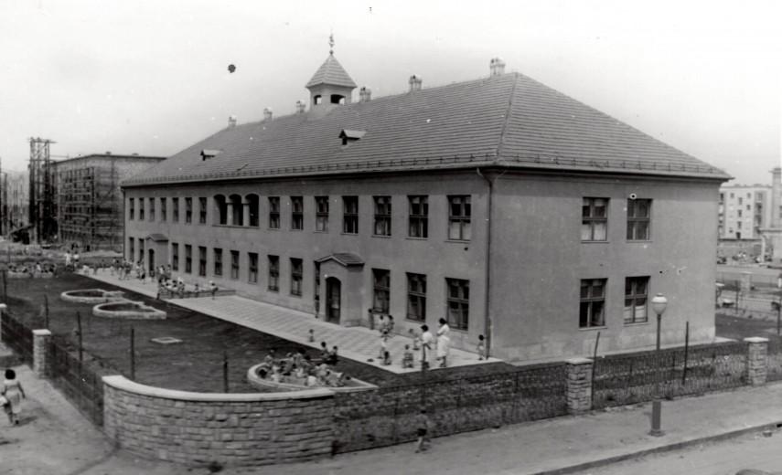 1957, Bánki Donát utca a 919. (Szervián) utcánál, 14. kerület