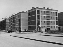 1960, Fogarasi út a Róna utcánál, 14. kerület
