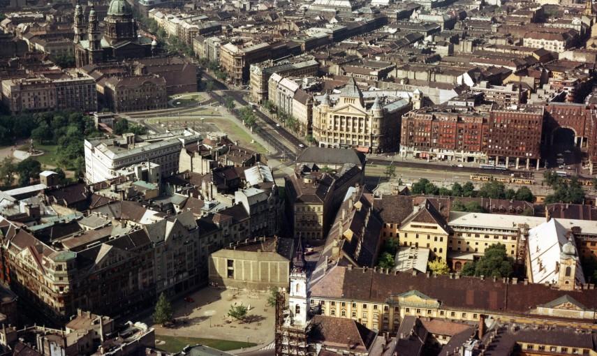 1966, Deák Ferenc tér és környéke, 5., 6. és 7. kerület