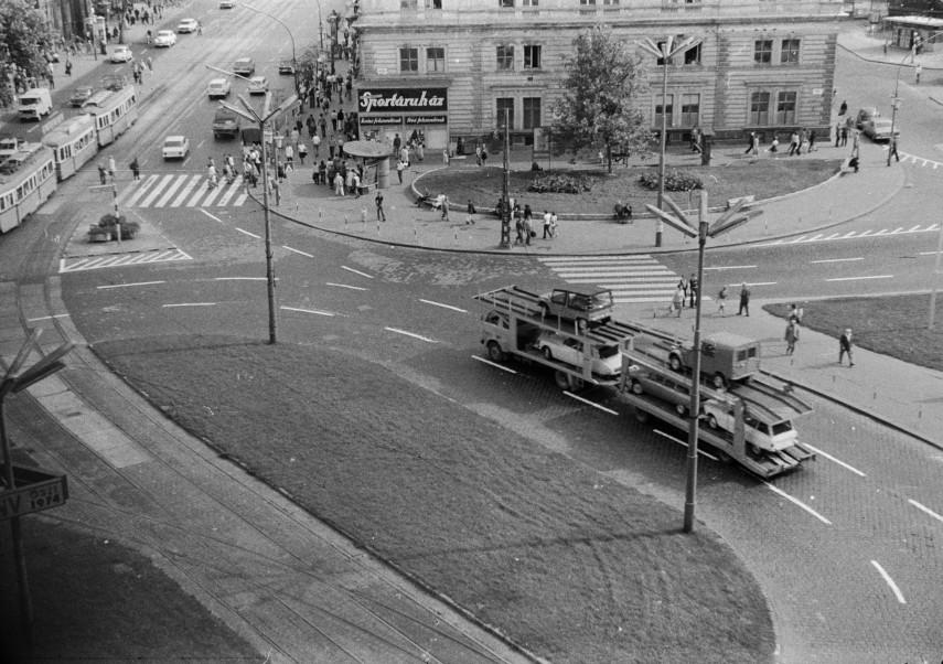 1974, Marx (Nyugati) tér, 6. kerület