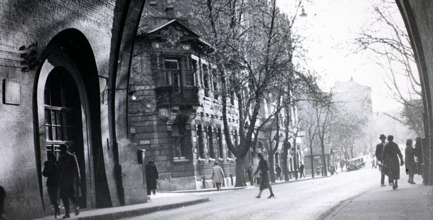 1934, a Váralagút a nyugati kapunál, 12. kerület