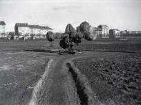 1930, Stefánia út a későbbi Népstadion területe felől, 14. kerület