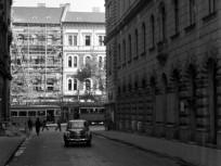 1955. Dessewffy utca a Teréz körút felé nézve, 6. kerület