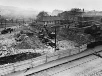 1962, Alkotás utca, a Déli pályaudvar átépítése, 1. kerület