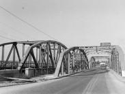 1951, Kikötői főút (Weiss Manfréd út), a  Kvassay híd, a  Kvassay híd, 21. kerület