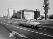 1986, Tito (Rózsa) utca az Árpád útnál, 4. kerület