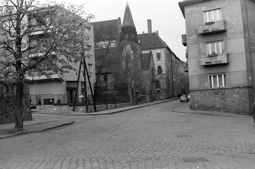 1973, Keleti Károly utca a Rét utcánál, 2. kerület